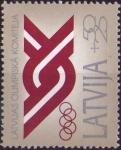 Sellos del Mundo : Europa : Letonia : Comite olimpico
