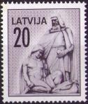 Sellos del Mundo : Europa : Letonia : -