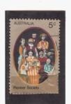 Sellos de Oceania - Australia -  Pioneer society