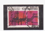 Stamps Australia -  Combustible y gas natural