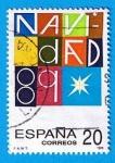 Stamps Spain -  nº 3036  Navidad 1989