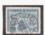 Sellos de America - Bolivia -  inaguración de f.c. yacuiba