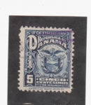 Stamps of the world : Panama :  Escudo nacional