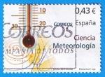 Stamps Spain -  nº 4385  Meteorologia