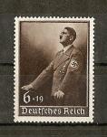 Sellos del Mundo : Europa : Alemania :  Conmemoracion del discurso pronunciado el dia 1 de mayo por Hitler