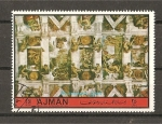 Stamps United Arab Emirates -  AJMAN