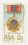 Stamps South Africa -  Medalla Pro-Patria