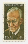 Stamps Africa - South Africa -  Totius 1877-1953