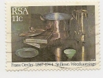 Stamps South Africa -  Painting (Frans Oerder)