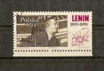 Stamps Europe - Poland -  Centenario nacimiento Lenin