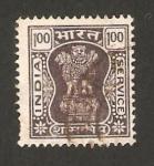 Sellos de Asia - India -  62 - columna de asoka