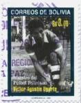 Stamps America - Bolivia -  Victor Agustin Ugarte - Maestro del Futbol boliviano