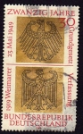 Stamps Germany -  Aguila imperial