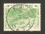 Stamps : America : Peru :  Cultivo del maíz, Andénes de Pisac
