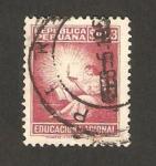 Sellos del Mundo : America : Perú : educación nacional