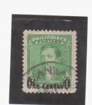 Sellos del Mundo : Asia : Filipinas : Dr. Jose Rizal