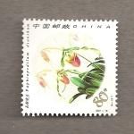 Stamps China -  Orquideas chinas