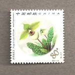 Stamps China -  Orquideas chinas