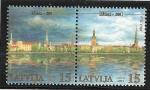 Sellos del Mundo : Europa : Letonia : Centro histórico de Riga