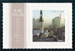 Stamps Europe - Estonia -  Centro histórico de Tallin
