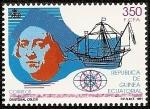 Stamps Equatorial Guinea -  V Centenario Descubrimiento de América  - Cristóbal Colón