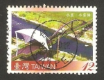 Stamps Asia - Taiwan -  puente sobre río