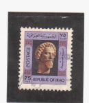 Stamps Asia - Iraq -  busto
