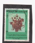 Stamps Asia - Iraq -  10 aniv. dela nacion. del petroleo