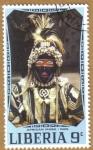 Sellos del Mundo : Africa : Liberia : African Mask - DAN