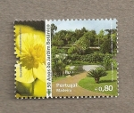 Stamps Portugal -  Madeira 50 Aniv Jardín botánico