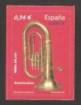 Sellos de Europa - España -  instrumentos musicales, bombardino