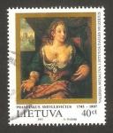 Stamps : Europe : Lithuania :  250 anivº del nacimiento de Praciskus Smuglevicius