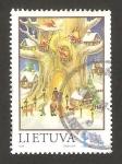 Sellos del Mundo : Europa : Lituania : navidad y año nuevo