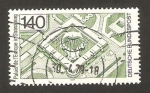 Stamps Germany -  inauguración del palacio del consejo de europa en strasburgo