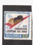 Stamps America - Venezuela -  Fundación Festival del Niño