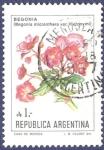 Sellos de America - Argentina -  ARG Begonia A1
