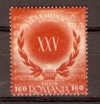 Stamps Romania -  XXV  ANIVERSARIO  DE LA  SOCIEDAD  FILARMÓNICA