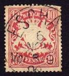 Stamps Europe - Germany -  Escudo (En relieve) Baviera
