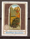 Stamps Africa - Rwanda -  ANGELES  Y   ORGANO