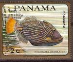 Sellos de America - Panamá -  PECES  TROPICALES