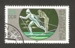 Sellos del Mundo : Europa : Alemania :  2480 - Olimpiadas de invierno en Sarajevo 1984, esquí
