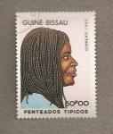 Stamps Africa - Guinea Bissau -  Peinados típicos