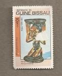 Sellos de Africa - Guinea Bissau -  Escultura