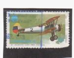 Stamps Venezuela -  59.º aniv. fuerzas aereas