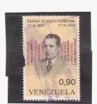 Sellos de America - Venezuela -  Rufino Blanco- Fombona 1874-1974