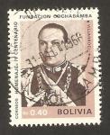 Stamps Bolivia -  IV centº fundación Cochabamba, villarroel
