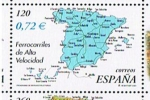 Sellos del Mundo : Europa : España : Edifil  SH 3855 C  Ferrocarriles de Alta Velocidad