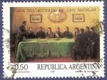 Stamps Argentina -  ARG Casa del acuerdo de San Nicolás A0,50