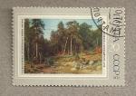Sellos de Europa - Rusia -  Bosque