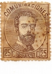 Stamps Europe - Spain -  AMADEO-I- 124